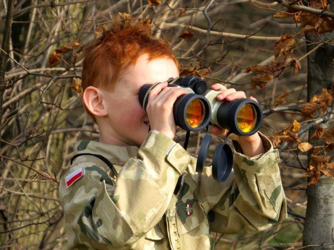 The Military Uniform Child Binoculars