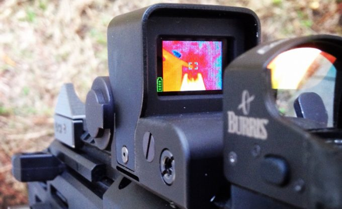 Thermal scope resolution