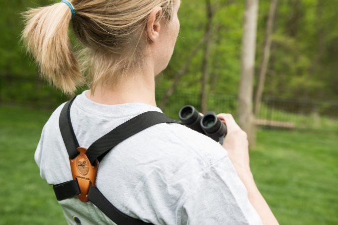 binoculars harness featured