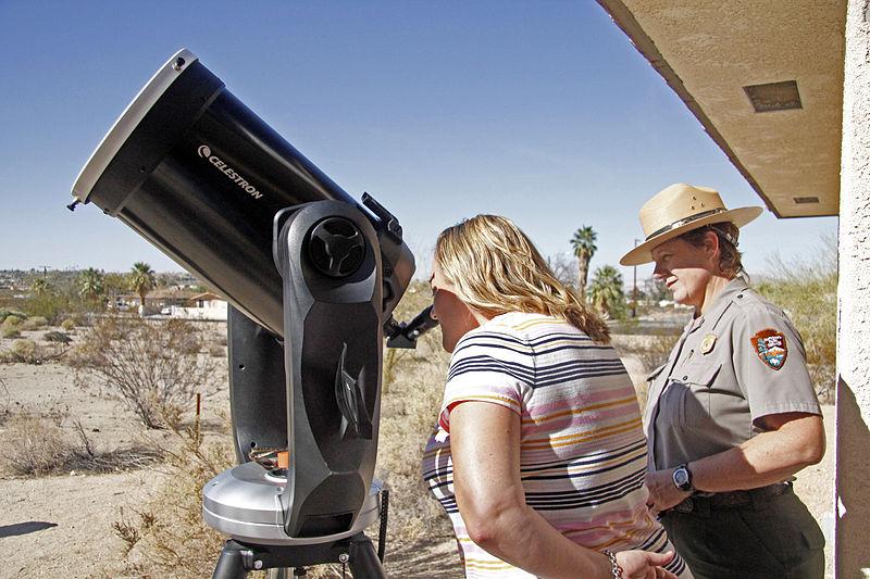 telescope watching