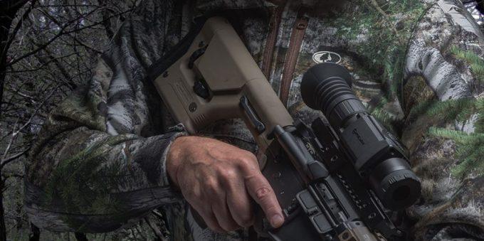 thermal scope on gun