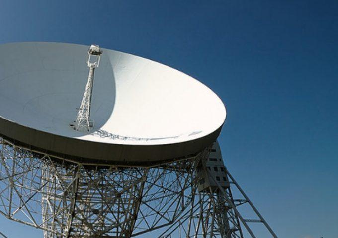 radio telescope dish