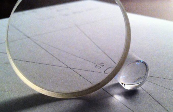 lens for telescope