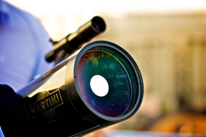 telescope upclose