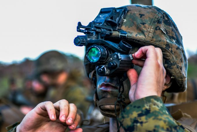 Barksdale welcomes Marines' Lone Star Battalion for training