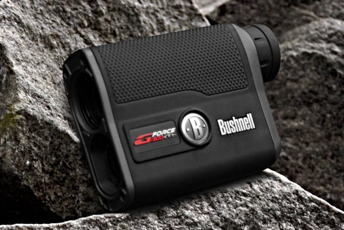 bushnell rangefinder on rocks