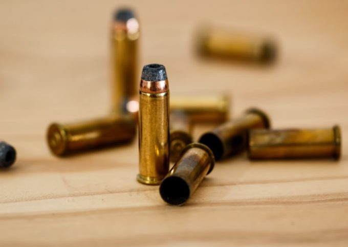 metal bullets on a table