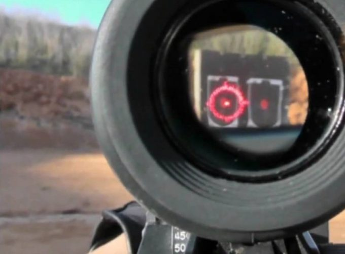 red dot sight magnification