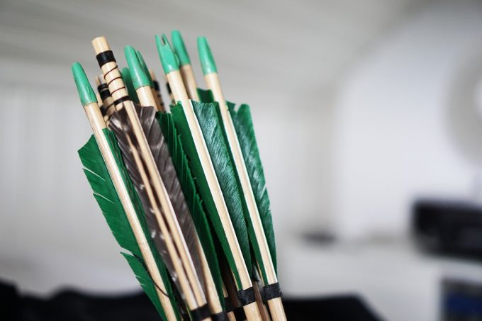 bow arrows