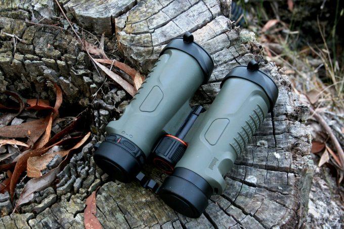 Bushnell Binoculars in the Woods