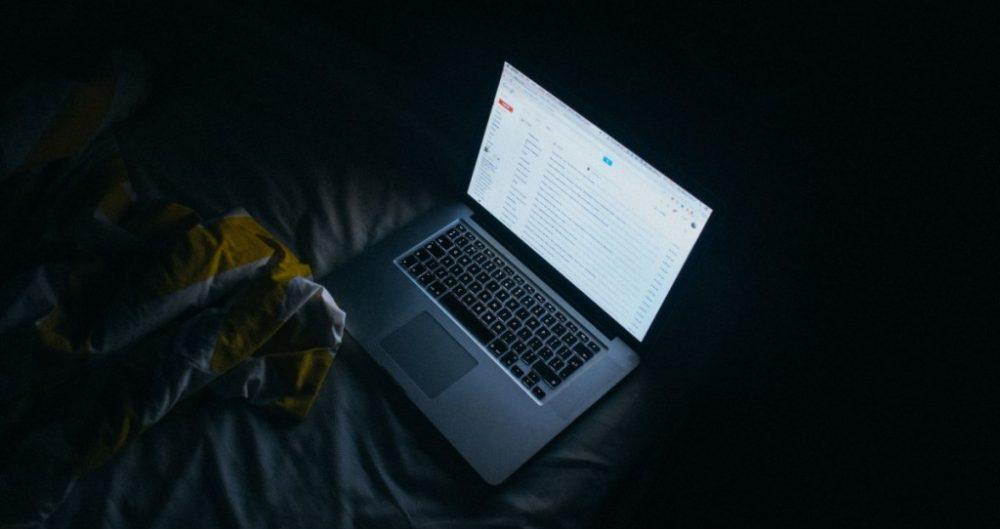 Using Computer at Night